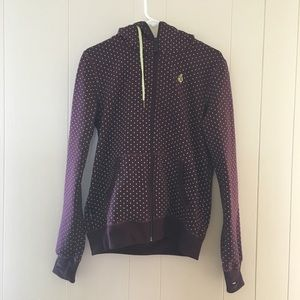 Volcom burgundy sweatshirt